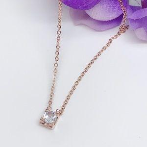Jewelry - CZ Sparkling Dainty Necklace